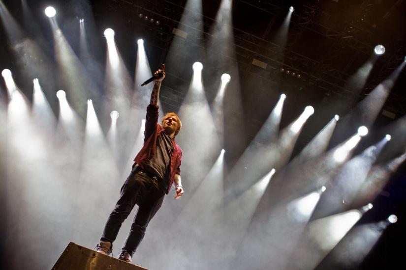 Ed Sheeran, Live inConcert